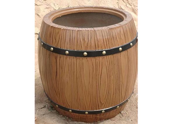 水泥制木桶