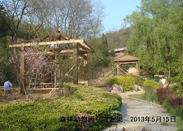 森林动物园凉亭