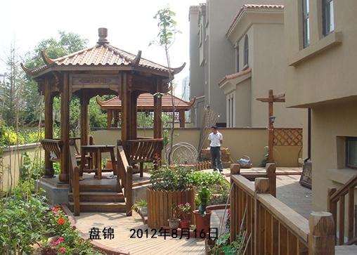 盘锦庭院凉亭